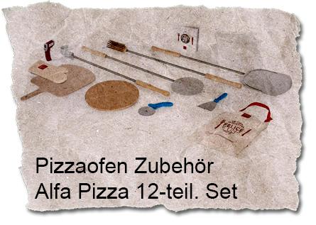 Alfa Pizza 12-teiliges Zubehör-Set