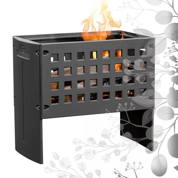 weiterführendes Produktbild Terrassenofen Leda Feuerbox