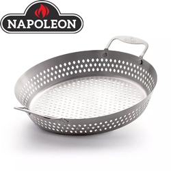 Produktbild Napoleon Edelstahl Gemüsekorb Grill Wok
