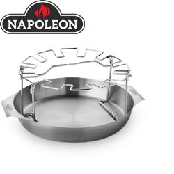 Produktbild Napoleon Edelstahl Hähnchenkeulen-Halter mit Schale