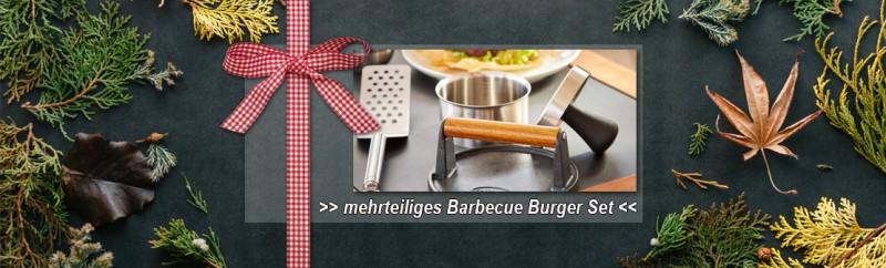 Rösle Barbecue Burger Set 3-teilig: Perfekt für die Zubereitung von leckeren Burgern