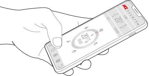 Steuerung per Smartphone