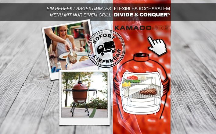 Kamado Joe Grills zum Angebotspreis und sofort Lieferbar