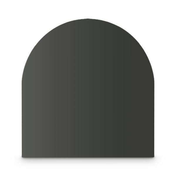 Stahl Bodenplatte Grau Zunge Funkenschutz Platte Kamin Ofen