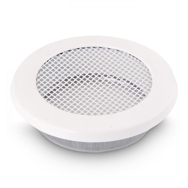 Kamin Lüftungsgitter rund 200 mm Ofen Gitter Weiß
