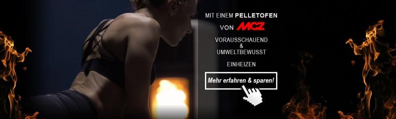 Bis zu 15% Rabatt gibt es auf alle MCZ Pelletöfen!