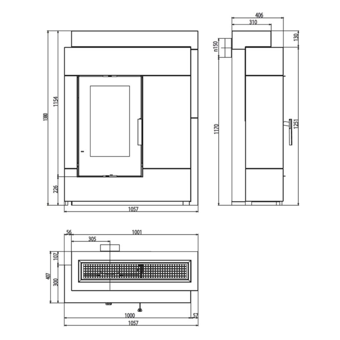 haas und sohn pinus ii kaminbausatz entdecken. Black Bedroom Furniture Sets. Home Design Ideas