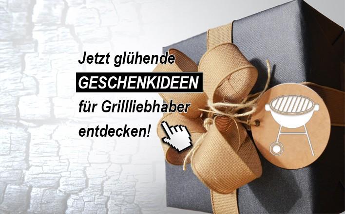 Jetzt viele Geschenkideen für Grillfans entdecken