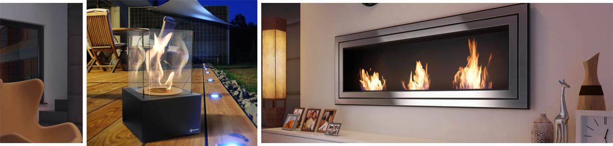 Beispiele verschiedener Kratki Feuerstätten