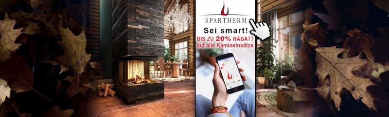 Sei smart: beim Kauf eines Spartherm Kamineinsatzes sparen und Komfortvorteile gebießen