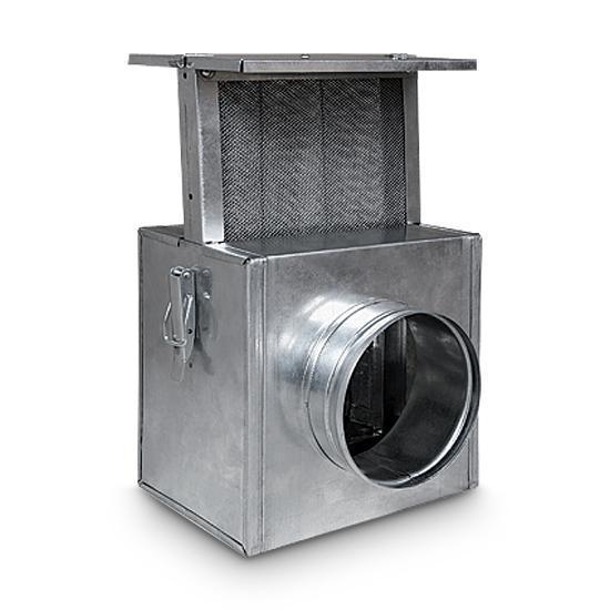 Kamin Gebläse Filter zur Warmlufverteilung 125 mm
