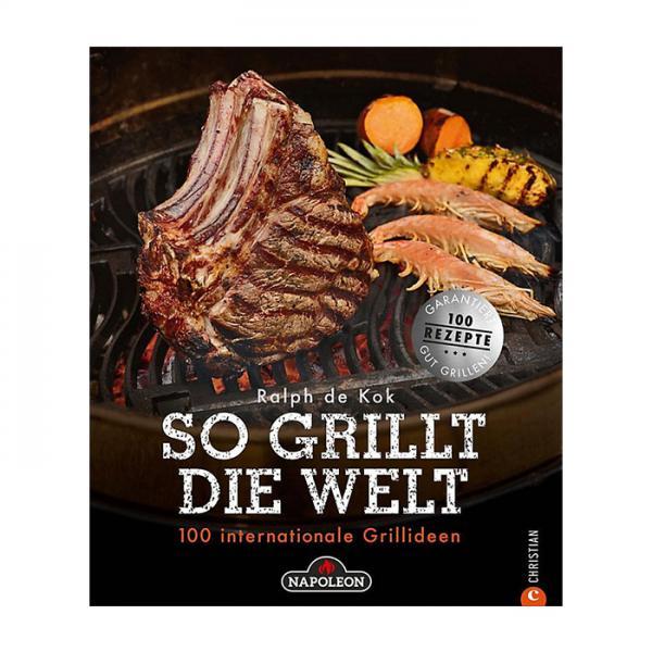 Grillzubehör Napoleon Grillbuch So grillt die Welt