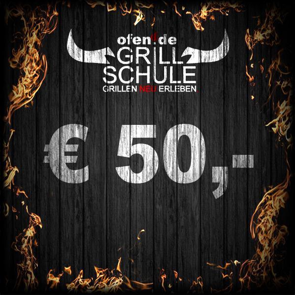 50 Euro Geschenkgutschein Grillschule