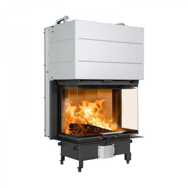 Kamineinsatz Scan 5004 FRL 7,8 kW 3-seitiges Glas