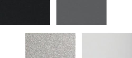 Cera Design KLC Stahl Farben