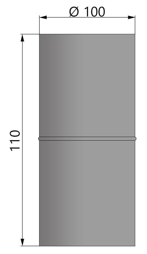 Anschlussstück Zeichnung