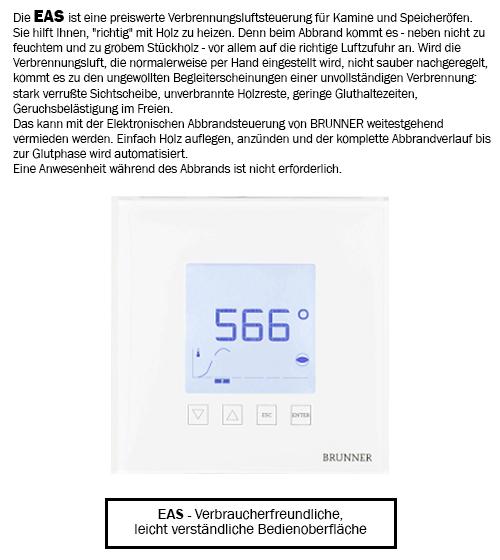 Brunner EAS Abbrandsteuerung