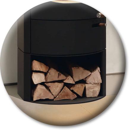 Produktdetailansicht mit Fokus auf Holzfach