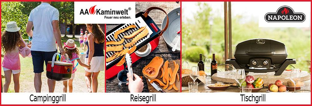 Im Profi Grillshop von ofen.de finden Sie zahlreiche Arten von Grills. Ob Campinggrill, Tischgrill oder Reisegrill. Die Vielfalt an Grills in unserem Onlineshop lässte keine Wünsche offen!