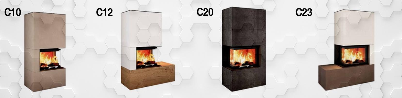 Übersicht der C-Serien-Modelle von Neocube