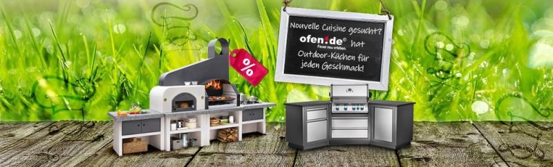Große Auswahl an Outdoor Küchen - für jeden Geschmack
