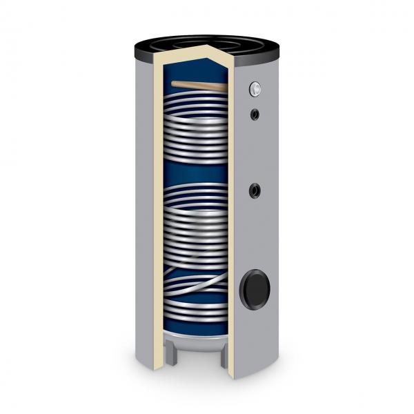 Solarspeicher TWL Typ SO 200 l mit 2 Wärmetauschern