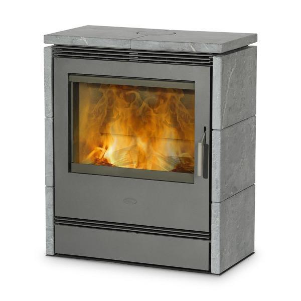 Dauerbrandofen Fireplace Rönky Speckstein 10 kW