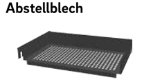 Abstellblech