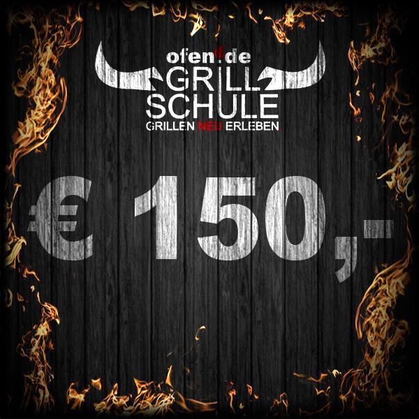150 Euro Geschenkgutschein Grillschule