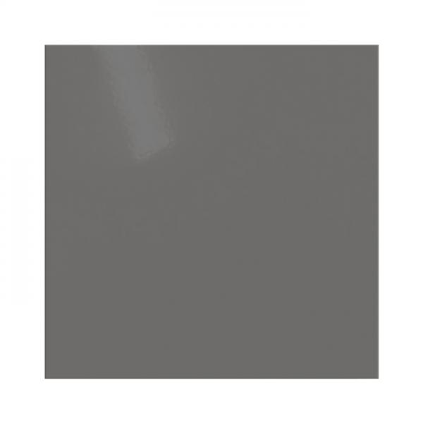 Kaminbodenplatte AA-Kaminwelt Quadrat Stahlblech Grau