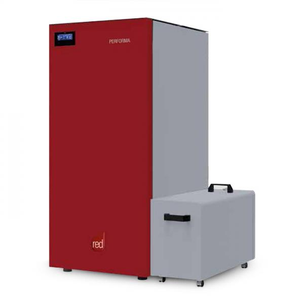 Pelletheizung RED Performa 30 Easy Clean Plus 27 kW