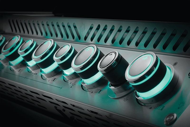 mehrfarbige LED Drehregler