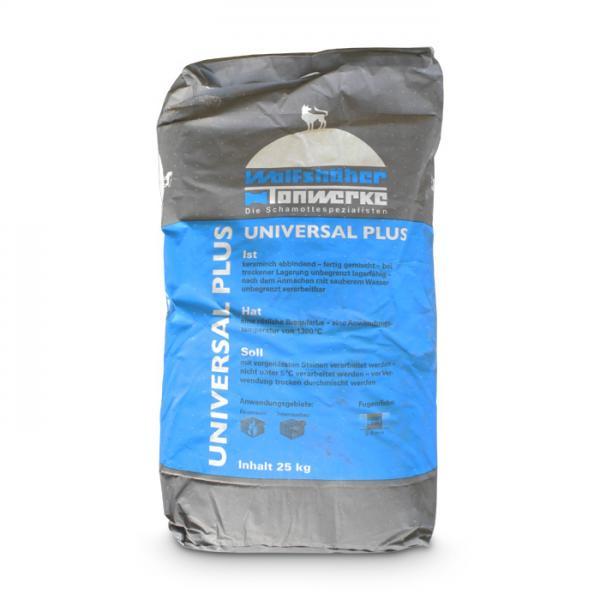 Universal Mörtel Plus 25 kg Ofenmörtel Schamottkleber