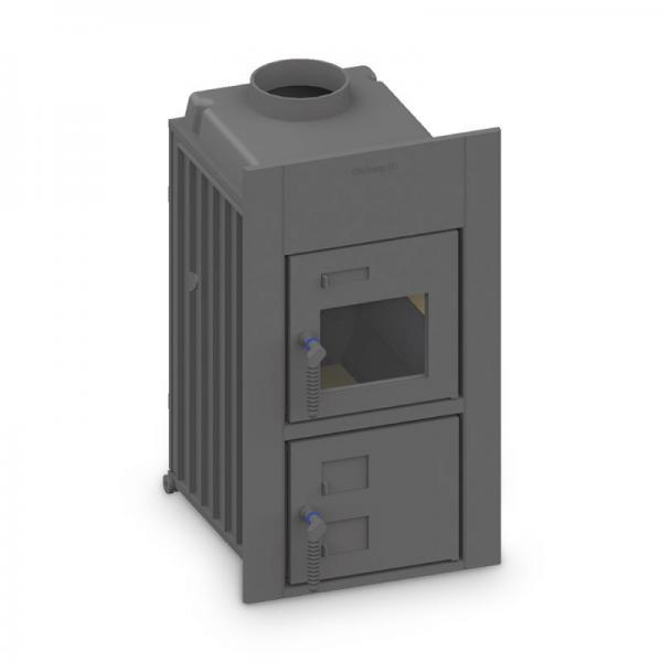 Kachelofeneinsatz Schmid Format 9 kW