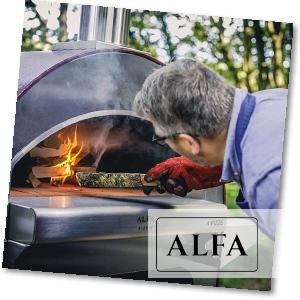 Pizzaofen mit Holz befeuern