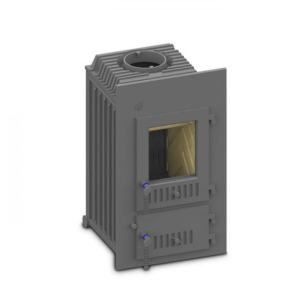 Kachelofeneinsatz Schmid SD 9 E / SD 11 E, 9 oder 11 kW