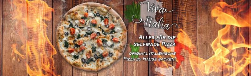 zu Hause Pizza backen wie die Europameister