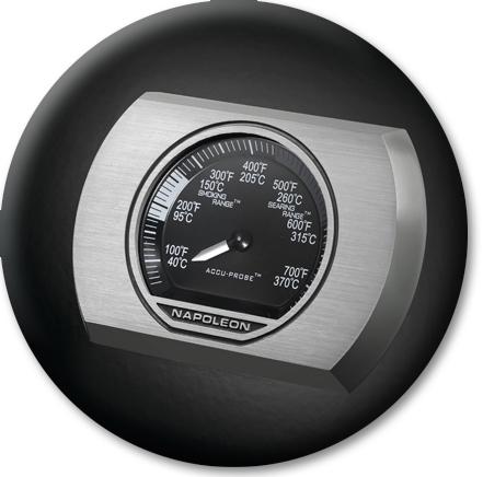 Napoleon ACCU-PROBE Deckelthermometer