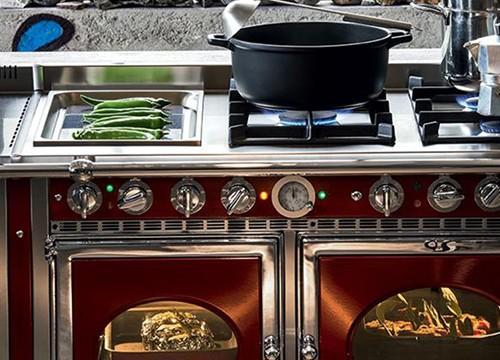 Backen Im Küchenofen : Wasserführender küchenofen beim profi online bestellen ofen
