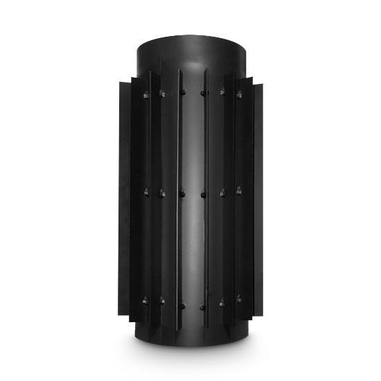 Abgaswärmetauscher AA-Kaminwelt DN 200 mm Länge 500 mm Stahlblech