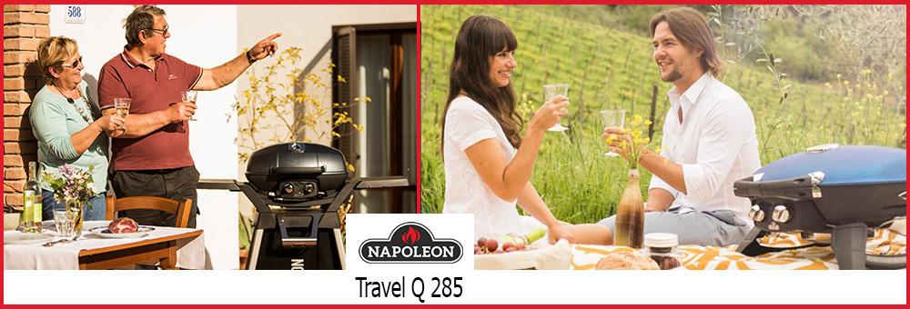In unserem Grillshop ist der TravelQ 285 einer der beliebtesten kleinen Grills. Er eignet sich aufgrund seiner kompakten Form ideal als Reisegrill oder mobiler Grill.