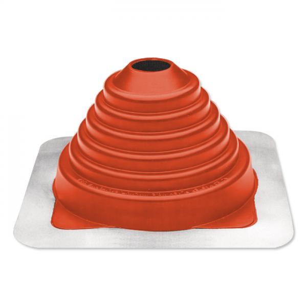 Rohrmanschette Silikon 70 bis 178 mm Rohrdurchführung Dachdurchführung