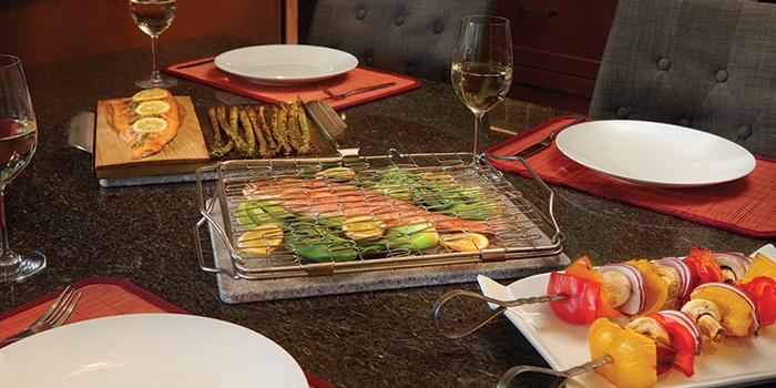 Starter Set Gemüse und Fisch Napoleon Ambiente