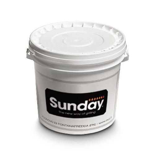 Grillzubehör Sunday Putzfarbe 1 kg Rot