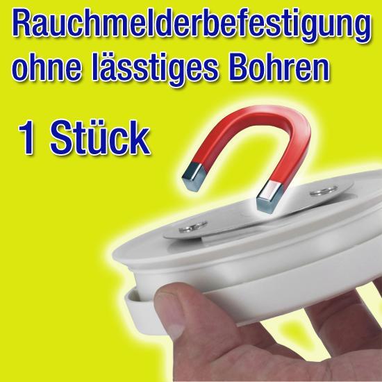 Rauchmelder Brandmelder Magnet Montagekit DN 7 cm