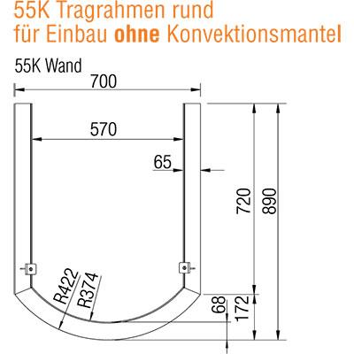 austroflamm-55x51-k-rund-tragrahmen-wand-ohne-kv