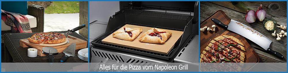 Napoleon bietet in seinem Zubehörsortiment alles, was Sie für Ihre Pizza vom Napoleon-Grill benötigen!