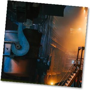 Stahlwerk Kessel