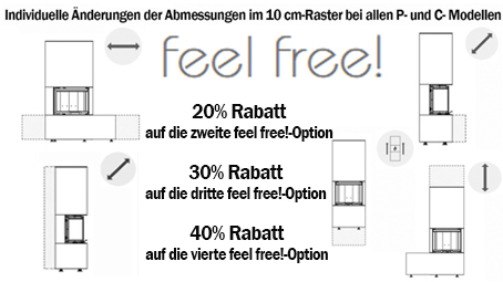 Neocube feel-free Optionen