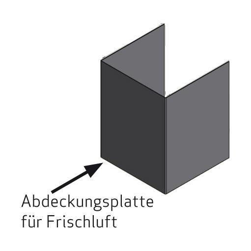 Scan 1003-B, Abdeckungsplatte für Frischluft